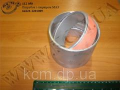 Патрубок з шарніром 64221-1201009 МАЗ,  арт....