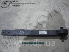 Ресора 69936900 (2 лист.) Schomaecker