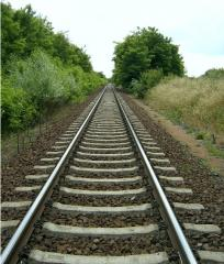 Materials of upper structure of railway track. The