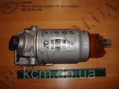Фільтр в зб. з насосом підкачки палива (без підігріву) ФГОТ PL-270