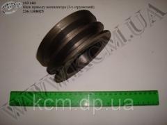 Шків приводу вентилятора 236-1308025 (2-х струмковий), арт. 236-1308025