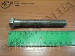 Болт подушки двигуна 370894 (М14*2*100) МАЗ,...