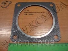 Прокладка компенсатора 250Б-1203038 (4-отв.) КрАЗ