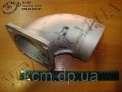 Патрубок 6501А8-1203187 МАЗ, арт. 6501А8-1203187