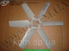 Крильчатка вентилятора 238БЕ-1308012 (D=660/65, металева) ЯМЗ, арт. 238БЕ-1308012