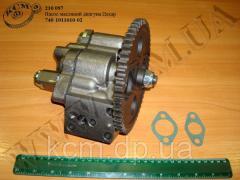 Насос масляний двигуна 740.1011010-02 КамАЗ