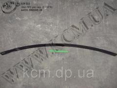 Лист 2 ресори перед. 64221-2902102-10 (L=1870) МАЗ, арт. 64221-2902102-10