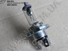 Лампа галогенна АКГ 12-60+55 (Н4 Р43t)
