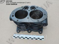 Блок циліндрів компресора 5320-3509028 (2 цил.), арт. 5320-3509028