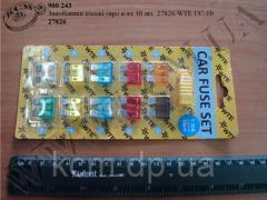 Запобіжники плоскі 27826/WTE UC-10 (Евро, 10 шт)