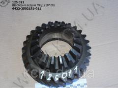 Шестерня ведуча МОД 6422-2502151-011 (18*28)...