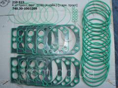 Р/к прокладок двигуна 740.30-1003209 (ГТВ, 4 найм., з арм. прокладкой)