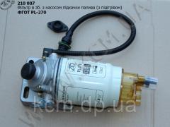 Фільтр в зб. з насосом підкачки палива (з підігрівом) ФГОТ PL-270