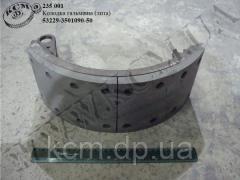 Колодка гальмівна 53229-3501090-50 (лита), арт. 53229-3501090-50