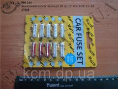 Запобіжники круглі 27828/WTE CC-10 (Евро, 10 шт)