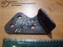 Кронштейн підніжки нижн. 6430-8405066 МАЗ, арт. 6430-8405066
