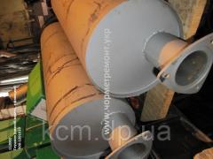Глушник 500А-1201010 (нижн. вихлоп, з фланцем), арт. 500А-1201010