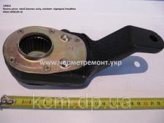 Важіль регул. 64221-3502135-010 (D=40, задн. лів., механич., дрібний шліц, РТ40-37) МЗТА, арт. 64221-3502135-10