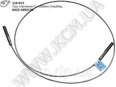 Трос зчеплення (L 1820мм) 6422-1602130 КСМ, ...