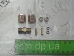 Фурнітура трубки D 6 мм (9 наим) зі з'єднувальним штуцером КСМ