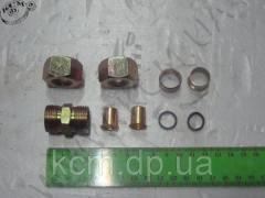 Фурнітура трубки D 15 мм (9 наим) зі...