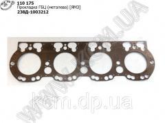 Прокладка ГБЦ 238Д-1003212 (металева) ЯМЗ, ...