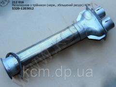 Металорукав з трійником 5320-1203012 (нерж.,...