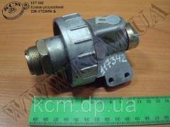 Клапан редукційний 238-1723050-Б, арт. 238-1723050-Б
