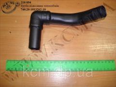 Труба підводяща теплообмін. 740.20-1013262-10