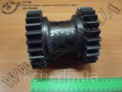 Блок шестерень з/х с/з 236-1701082 (Z24/25)...