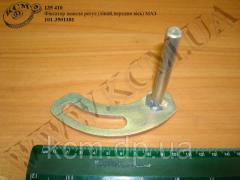 Фіксатор важеля регул. (лівий, передня вісь) 101-3501181 МАЗ, арт. 101-3501181