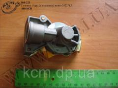 Головка зєднувальна 48014СВ (з клапаном, жовта М22*1,5)