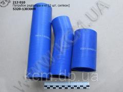 Патрубок радіатора к-кт (3 шт. 4-х шар., силікон) 5320-1303009