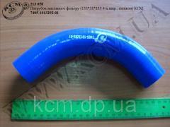 Патрубок масляного фільтру (135*31*135 4-х шар., силікон) 7405-1013292-01 КСМ