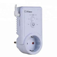 GSM розетка с датчиком температуры с функцией