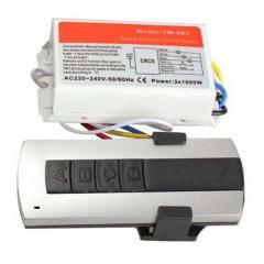 Блок управления для люстр и светильников 220V на 3