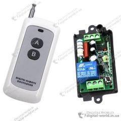 Электрический выключатель 220 Вольт, реле 10 А, с