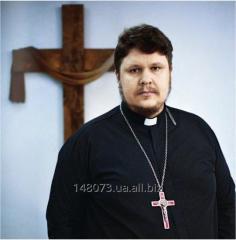 Pastor's vestments (koloratka, pastoral