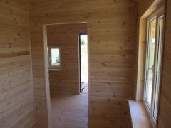 Country house 5kh6m + verandah 1,5х5.