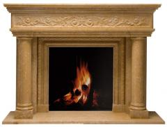 Portals for fireplaces
