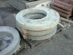 Плиты (крышки) перекрытия колодцев