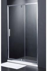 SDG1214 FRAME PRIMERA Душові двері в нішу розпашні - 140*190 - хром/сіре скло