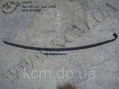 Лист 2 ресори задн. 4370-2912102 БЗРП,  арт....