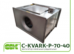 C-KVARK-P-70-40-31-2-220 fan rectangular channel