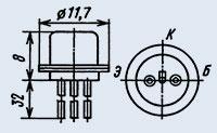 Транзистор 1Т308Б