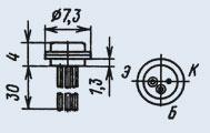 Транзистор 2Т306Г