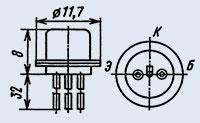 Транзистор 1Т308В