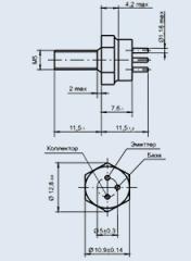 Транзистор 2Т904А/ВЭ