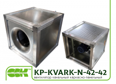 KP-KVARK-N-42-42-9-2,8-2-380 fan channel groove square frame-panel