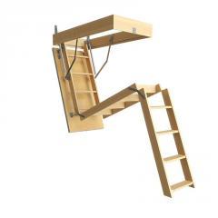 Лестница чердачная STANDARD, код: 5302